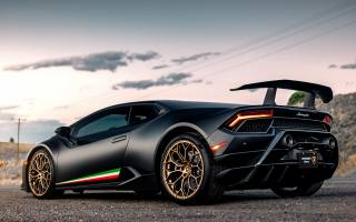 lamborghini, car, performante, Huracan, by Mark Hambach