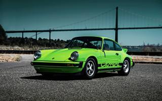 Porsche, 911, carrera, 1974, green