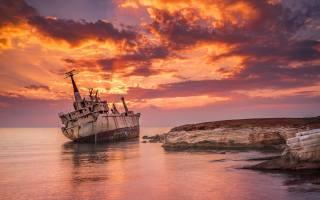 landscape, sea, sunset