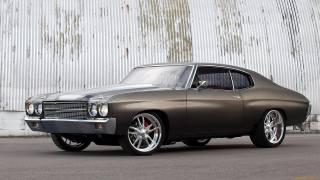 Americké, auto, Chevrolet, chevelle