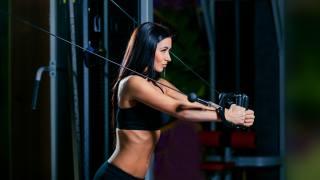 girl, fitness, gym
