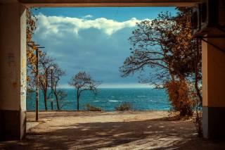 чорне море, пейзаж.вода