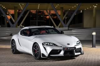 Toyota, Supra, white