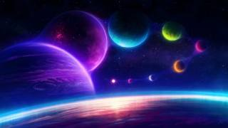 colorful, planet