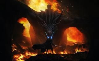 дракон, фентезі, арт