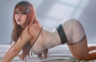 girl, model, inoue orihime, HooBaMon