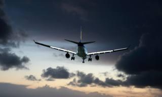 nebe, letadlo, výsadba