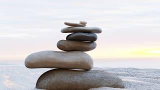пляж, пісок, каміння, Релакс