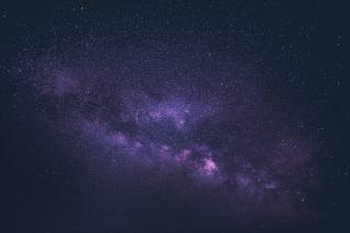space, the universe, stars, Purple
