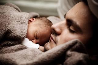дитина, милий, тато, родина, батько, син