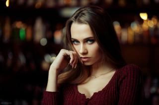 girl, model, view, Евгений Булатов, eva