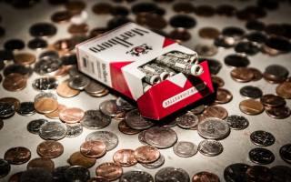 сигареты, монеты, Marlboro, деньги, бросай курить