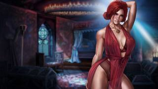 dandon fuga, The Witcher 3, triss