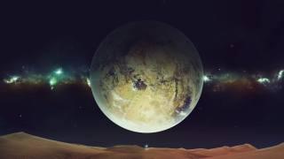 měsíc, vesmír