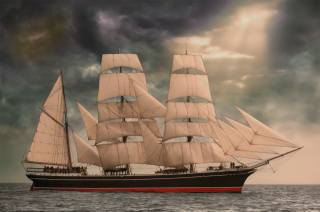 romance, adventure, sails, the ocean