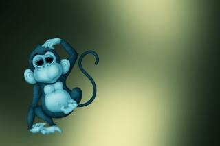 мавпочка, іграшка, фон
