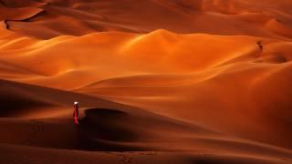 poušť, Кумтаг, Xinjiang