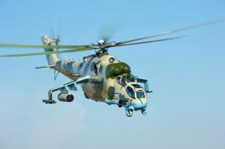 авиация, Вертолет, ми 24