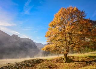 autumn, mountains