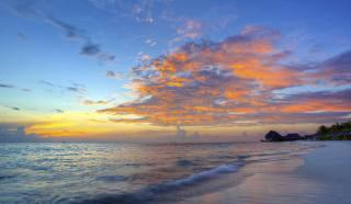 pláž, pobřeží, dovolená, dovolená, oceán, břeh