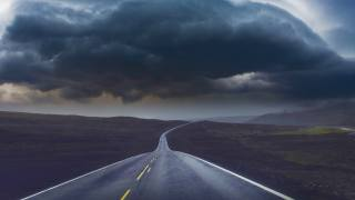 циклон, дорога