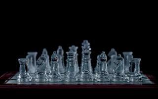 glass, chess