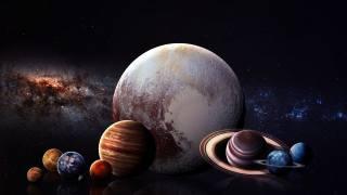 фото Иллюстрация, planet, space, stars, earth