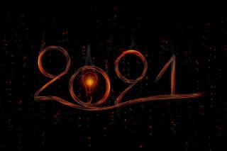 2021, Новый год