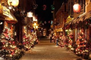 зима, Швейцария, ночь