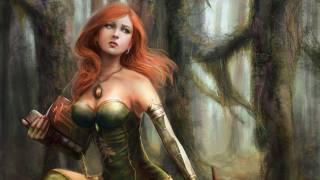 fantasy girl, книга, арт