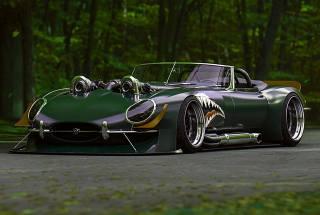 Jaguar, background, greens
