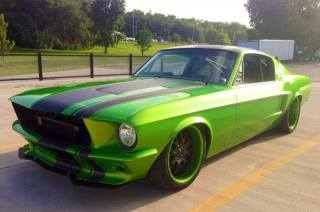 Ford, Mustang, 1967, retro, tuning