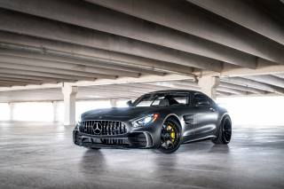 Mercedes Benz, car, AMG, Parking