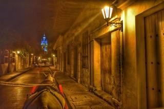місто, вуличка, поездка, ніч, краєвид