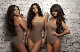 girls, trio, music