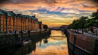 місто, краєвид, Гамбург