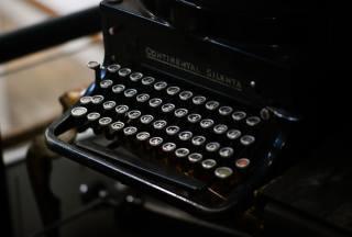 Пишущая машинка, starožitnosti, klávesnice, retro