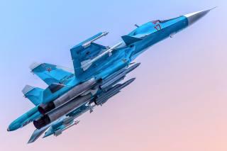Su-34, supersonic, Fighter, bomber
