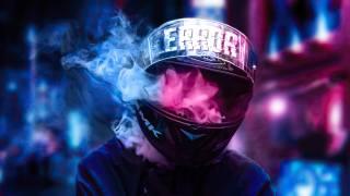 шлем, дым