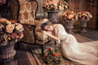 Asian, dresses, невест