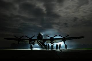 night, people, the plane
