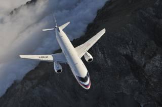 Suchoj, superjet 100, letadlo, let, Rusko