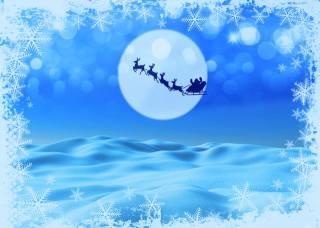 winter, holiday, night, background