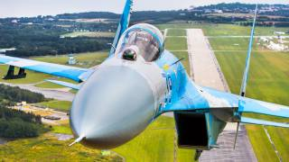Su-27, let