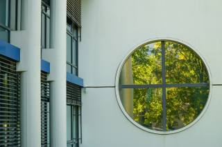 будинок, стіна, вікно, декоративное, осінь, Композиція