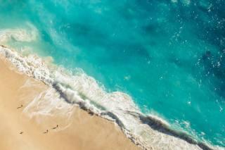 oceán, vlny, břeh