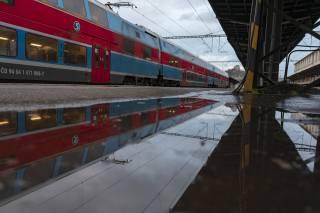 train, station, Prague