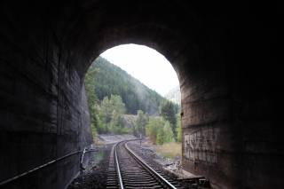 the tunnel, rails