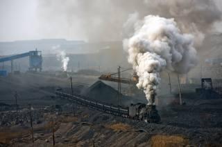 quarry, coal, train, the engine, smoke