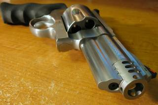 background, revolver, smith wesson